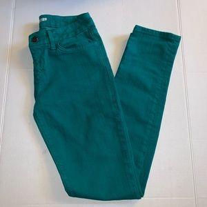 Joe's Teal Skinny Jeans